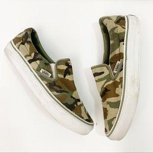 VANS Classic Camo Slip On Sneaker